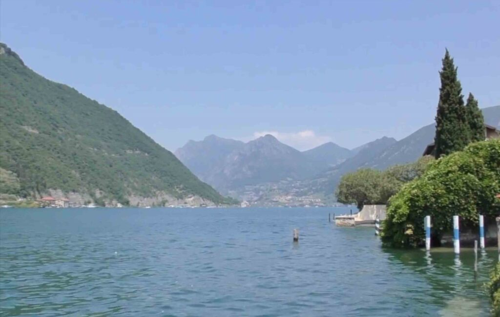 Lake Town in Northern Italy